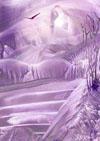 Encaustic meditatie / ansichtkaart